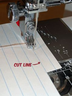 Tips on how to get a perfect 1/4 inch seam