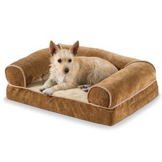 The Heated Dog Sofa - Hammacher Schlemmer I need this in a small for Petey