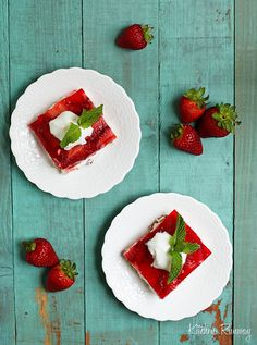 Strawberry Pretzel Salad by kitchenrunway