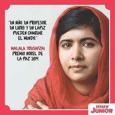 Premio Nobel de la Paz 2014 a los activistas defensores del derecho a la educación para todos los niños y niñas