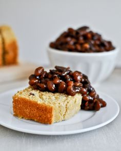 Slow Cooker Bacon Bourbon Baked Beans | How Sweet It Is