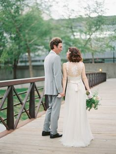 katie + justin   Onyx Gown by Catherine Deane for BHLDN   megan pomeroy photography   #BHLDNbride