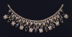 etruscan, amaz jewelri, ancient histori, onyx necklac, ethnic jewel, british museum, necklaces, 480460