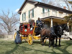 Step back in time at the Mahaffie Stagecoach Stop & Farm (Olathe)