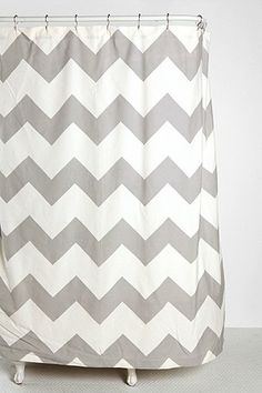 Zigzag Shower Curtain from Urban Outfitters