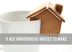 Creative: Eleven Ace Gingerbread Houses To Make
