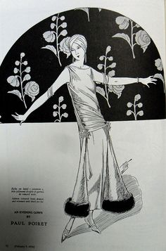 1924, Evening Gown by Paul Poiret