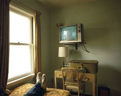 The Town.  Photography by Stephen shore -