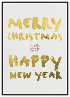 Handwritten Holiday - Black - Paperless Post