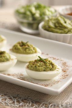 Recipe: Guacamole Deviled Eggs