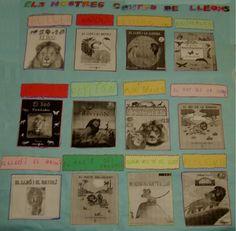 Projecte dels lleons: Materials i activitats. Escola Els Til·lers. project anim, project el, proyecto escolar, proxecto para
