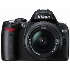 The 6 Megapixel Nikon D40 is targeted for those who would like a relatively compact and light camera yet having nearly all of the important SLR characteristics.