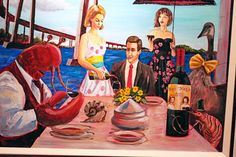 Artist Michael Summers, Featured Artist for the San Diego Bay Wine & Food Festival 2011
