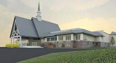 Black Rock Congregational Church in Fairfield, Conn