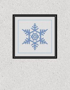Snowflake Cross Stitch Chart