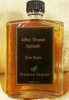 Bay Rum After Shave Splash | Bonjour Nature