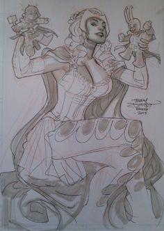 Enchantress - Terry Dodson Comic Art
