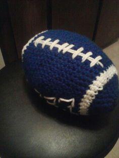 My Next Project ... Dallas Cowboys Crochet Football