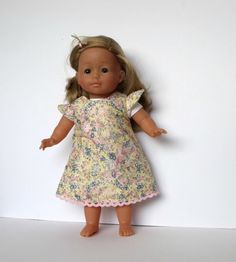 Spring/Summer Liberty of London fabric Dolls Dress for dolls 36cm/14in