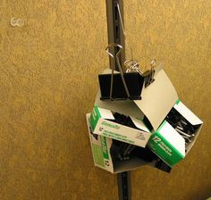 Binder Clip Organizer | Community Post: 54 Uses For Binder Clips That Will Change Your Life