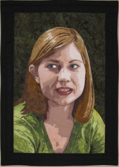 Bonnie Keller - Portrait Quilts - Lauri. Looks like you've got a twin@Pam O'Quinn!