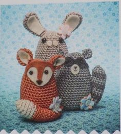 Amigurumi Barmy: Craftseller Woodland critters