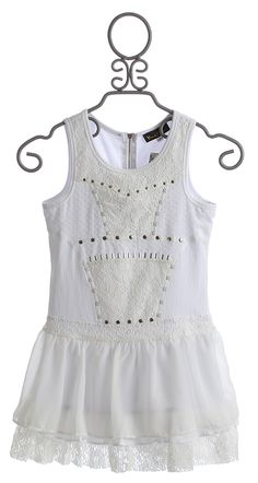 Hannah Banana Couture Dress for Tweens in White $84.00