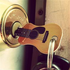 Acoustic Guitar Key by Rockin' Keys - Whyrll.com