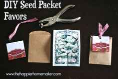 diy seed packet favors party favors, wedding favors rustic diy, diy seed favors, seed packet favors, bridal shower favors seeds, rustic bridal shower favors, plant diy wedding favors, parti favor, bridal showers
