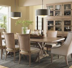 Dining Room: Decorating with a Farmhouse Table - Riffing On   Wayfair