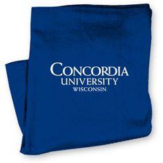 Product: Concordia University Wisconsin Blanket $36.00