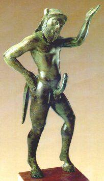 Etruscan satyr