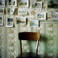 postcards wall paper