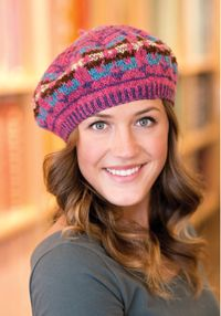 Shetland Beret pattern - from Love of Knitting magazine's special Knit Accessories 2014 Issue