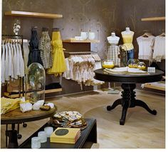 beauti vignett, shop interiors, retail displays, shop inspir, boutiqu display