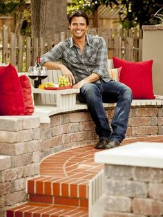 HGTV's John Gidding was a runway model; he has degrees from Yale and Harvard and he's a renown architect and interior designer.  And he's a hottie!