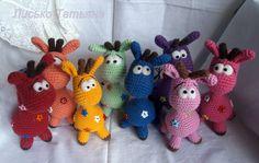 giraffe free pattern in Russian