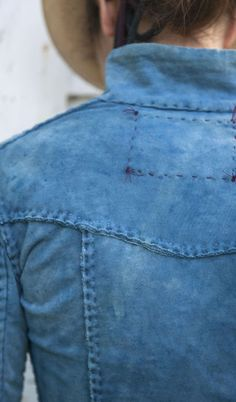 Denim Blazer No need to go to Woodstock! Shop Shabby Shack Vintage Denim in Courtyard Antiques (formerly known as Front Porch Antiques Mall) in the Mason Antiques District. Open 7 Days, 10 A.M. – 6 P.M. (517) 676-6388