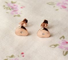 Golden Heart Earrings