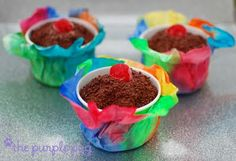 Coffee Filter Party Craft (cup covers)