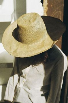 straw hat for summer