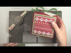 My intro video for using the new Stampin' Up Gift Box Punch board to make 15 sizes of boxes!