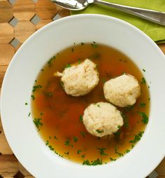 Matzo Ball Soup Recipe by @Michelle Flynn Flynn Flynn (Brown Eyed Baker) :: www.browneyedbaker.com