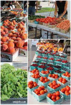 Farmer's Market Collage