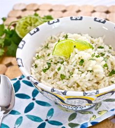 cilantro lime rice - Flavor the Moments