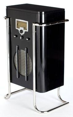 1936 John Vassos RCA 6K10 Floor Model Radio