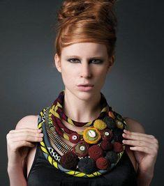 #ankara necklace