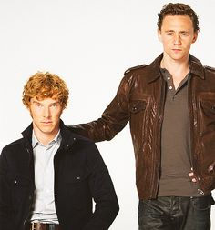 Benedict Cumberbatch and Tom Hiddleston