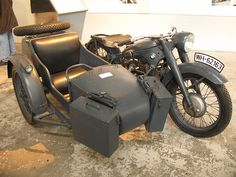BMW's R12 from the 1930s