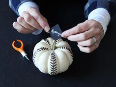 Make White Pumpkin P